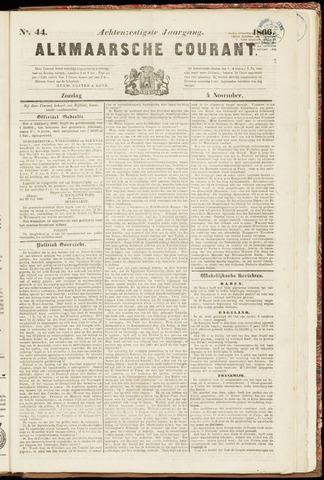 Alkmaarsche Courant 1866-11-04