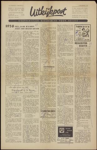 Uitkijkpost : nieuwsblad voor Heiloo e.o. 1958-12-31
