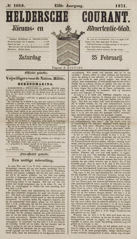 Heldersche Courant 1871-02-25