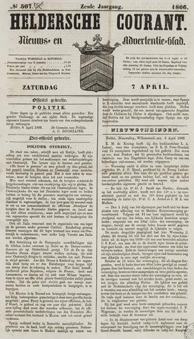 Heldersche Courant 1866-04-07