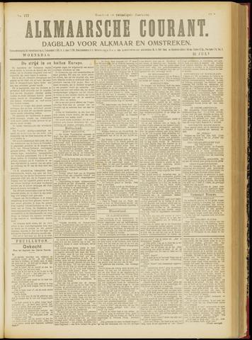 Alkmaarsche Courant 1918-07-31