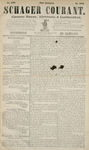 Schager Courant 1881-01-20
