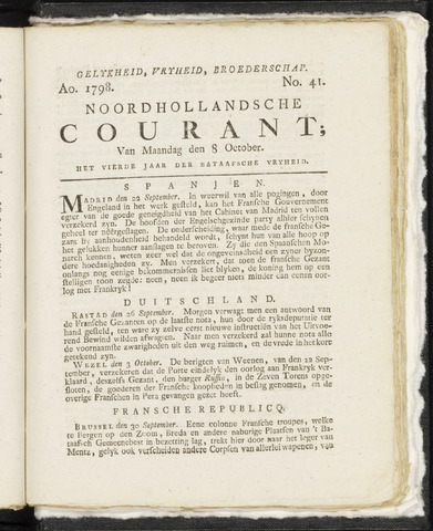Noordhollandsche Courant 1798-10-08