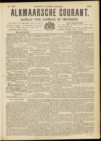 Alkmaarsche Courant 1906-09-03