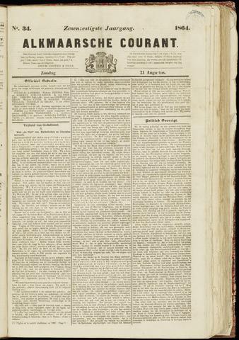 Alkmaarsche Courant 1864-08-21
