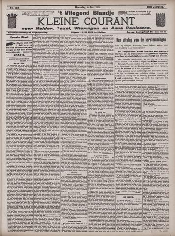 Vliegend blaadje : nieuws- en advertentiebode voor Den Helder 1913-06-25