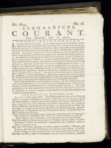 Alkmaarsche Courant 1804-04-16