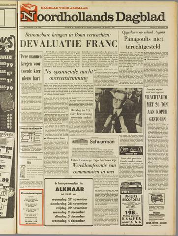 Noordhollands Dagblad : dagblad voor Alkmaar en omgeving 1968-11-22