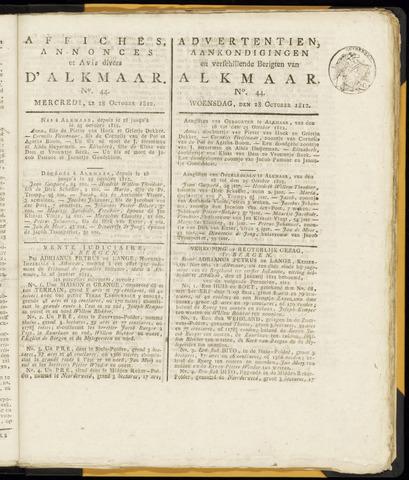 Alkmaarsche Courant 1812-10-28