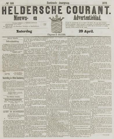 Heldersche Courant 1876-04-29