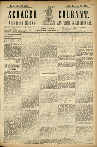 Schager Courant 1895-07-28