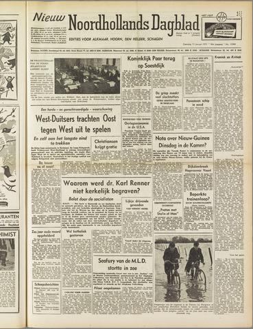 Nieuw Noordhollandsch Dagblad : voor Alkmaar en omgeving 1951-01-13