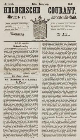 Heldersche Courant 1871-04-26