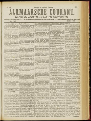 Alkmaarsche Courant 1918-10-04