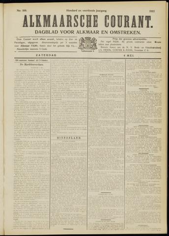 Alkmaarsche Courant 1912-05-04