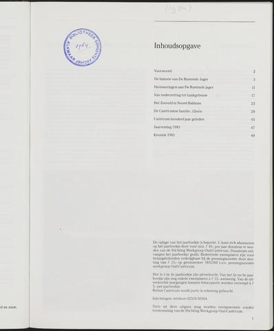 Jaarboek Oud Castricum 1984-11-01