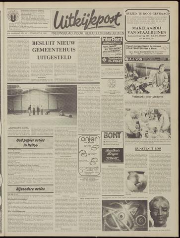 Uitkijkpost : nieuwsblad voor Heiloo e.o. 1986-08-27