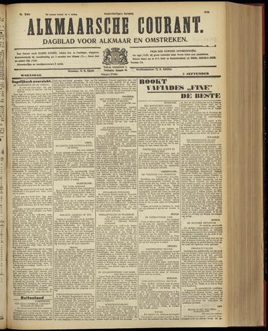 Alkmaarsche Courant 1928-09-05