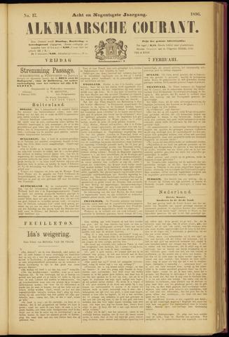 Alkmaarsche Courant 1896-02-07