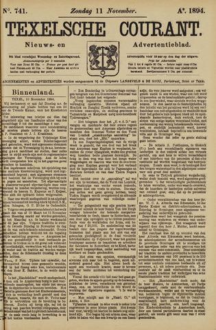 Texelsche Courant 1894-11-11