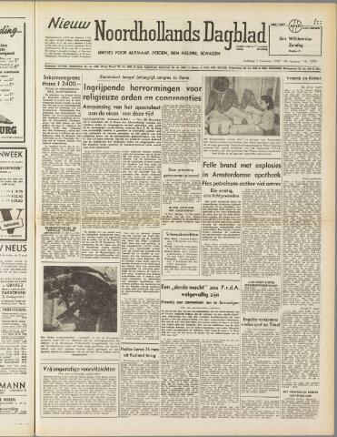 Nieuw Noordhollandsch Dagblad : voor Alkmaar en omgeving 1950-11-11