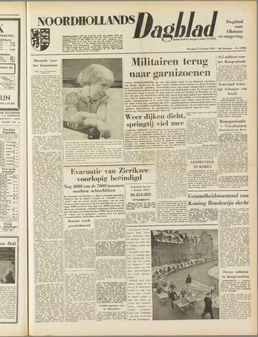 Noordhollands Dagblad : dagblad voor Alkmaar en omgeving 1953-02-17