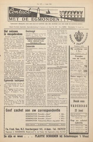 Contact met de Egmonden 1964-06-04
