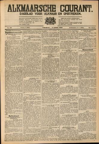 Alkmaarsche Courant 1930-04-04