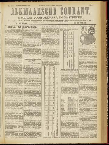 Alkmaarsche Courant 1916-10-14