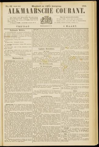Alkmaarsche Courant 1903-03-06