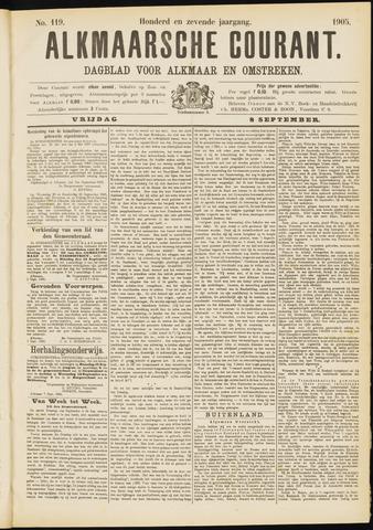 Alkmaarsche Courant 1905-09-08