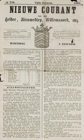 Nieuwe Courant van Den Helder 1865-01-04