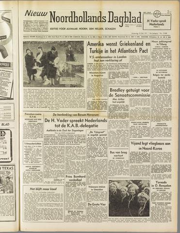 Nieuw Noordhollandsch Dagblad : voor Alkmaar en omgeving 1951-05-16