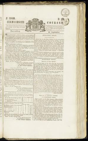 Alkmaarsche Courant 1840-09-28