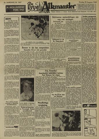 De Vrije Alkmaarder 1949-08-30