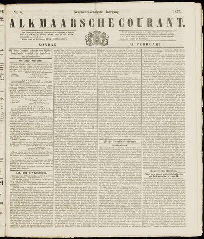 Alkmaarsche Courant 1877-02-11