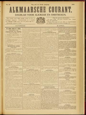 Alkmaarsche Courant 1908-04-25