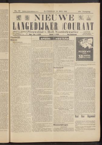 Nieuwe Langedijker Courant 1931-05-23