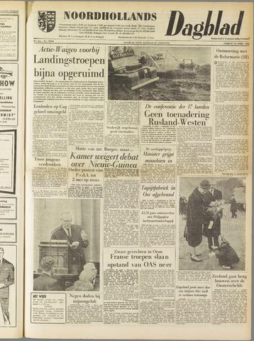 Noordhollands Dagblad : dagblad voor Alkmaar en omgeving 1962-04-13