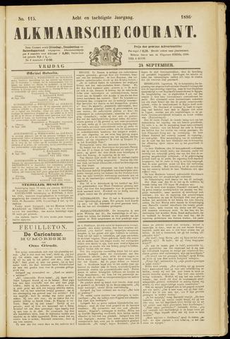 Alkmaarsche Courant 1886-09-24