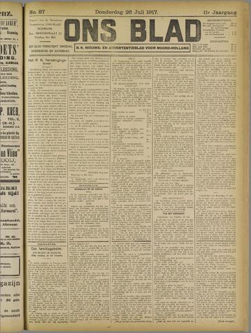 Ons Blad : katholiek nieuwsblad voor N-H 1917-07-26