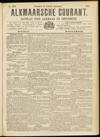 Alkmaarsche Courant 1906-11-27