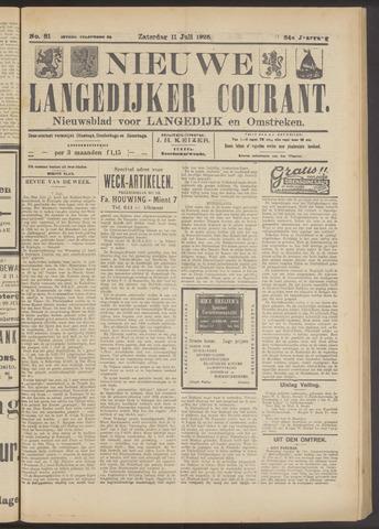 Nieuwe Langedijker Courant 1925-07-11