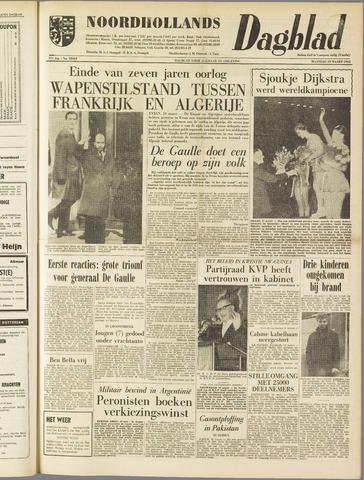 Noordhollands Dagblad : dagblad voor Alkmaar en omgeving 1962-03-19