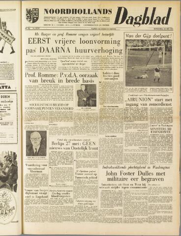 Noordhollands Dagblad : dagblad voor Alkmaar en omgeving 1959-05-28