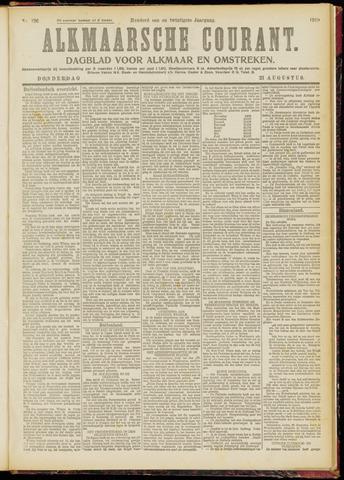 Alkmaarsche Courant 1919-08-21
