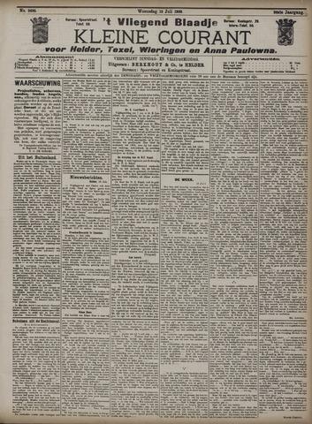 Vliegend blaadje : nieuws- en advertentiebode voor Den Helder 1908-07-15