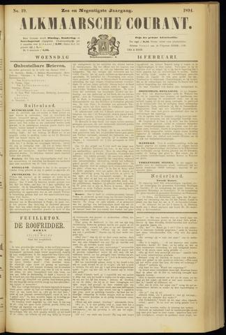 Alkmaarsche Courant 1894-02-14