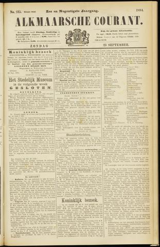 Alkmaarsche Courant 1894-09-23