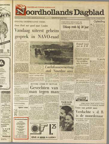 Noordhollands Dagblad : dagblad voor Alkmaar en omgeving 1965-05-12